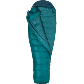 Marmot Angel Fire Sleeping Bag Women Long Malachite/Deep Teal